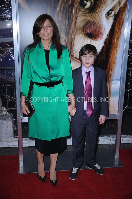 WWW.ACEPIXS.COM . . . . . ....October 13 2009, New York City....Actors Catherine Keener and Max Records  arriving at the 'Where The Wild Things Are' premiere at Alice Tully Hall on October 13, 2009 in New York City.....Please byline: KRISTIN CALLAHAN - ACEPIXS.COM.. . . . . . ..Ace Pictures, Inc:  ..(212) 243-8787 or (646) 679 0430..e-mail: picturedesk@acepixs.com..web: http://www.acepixs.com