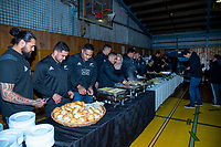 2018 Rippa Rugby Dinner with the All Blacks at Wellington College in Wellington, New Zealand on Monday, 10 September 2018. Photo: Dave Lintott / lintottphoto.co.nz
