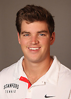 STANFORD, CA - NOVEMBER 16:  Ted Kelly of the Stanford Cardinal during men's tennis picture day on November 16, 2009 in Stanford, California.