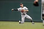 Brandon Lowe (5)<br /> Maryland v Michigan<br /> Big 10 Baseball Tournament Championship Game<br /> <br /> &copy;2015 Bruce Kluckhohn<br /> #612-929-6010<br /> bruce@brucekphoto.com