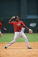 Arizona Diamondbacks Henry Castillo (8) during an instructional league game against the San Francisco Giants on October 16, 2015 at the Chase Field in Phoenix, Arizona.  (Mike Janes/Four Seam Images)