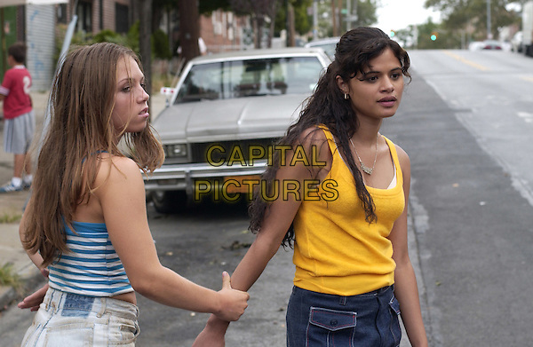MELONIE DIAZ & JULIA GARRO.in A Guide to Recognizing Your Saints.*Filmstill - Editorial Use Only*.CAP/PLF.Supplied by Capital Pictures.