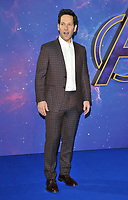 Paul Rudd at the &quot;Avengers: Endgame&quot; UK fan event, Picturehouse Central, Corner of Shaftesbury Avenue and Great Windmill Street, London, England, UK, on Wednesday 10th April 2019. <br /> CAP/CAN<br /> &copy;CAN/Capital Pictures