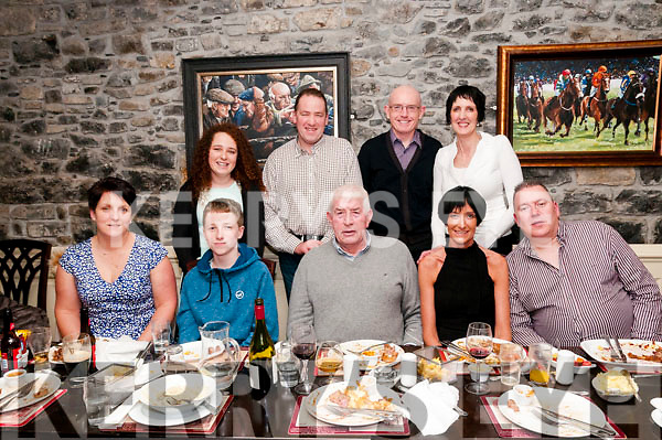 80th Birthday : Micky Scanlon, Ballyconry, Liselton  celebrating his 80th birthday with family & friends at Behan's Horseshoe Restaurant, Listowel on Saturday night last.