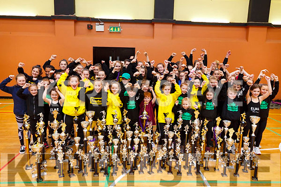 The Cassie Leen dance studio, where her dancers won 200 trophies in the recent Hip Hop Dance Championships