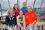 Scartaglin GAA celebrates it's 50th Football Blitz and family fun day on Saturday Pictured enjoying the fun were  Front Sarah O'Mahony, Rachel O'Sullivan, Grainne Walsh.  Back Michaela Buckley, Molly Mahony