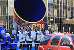USA Gymnastic Team Fab 5 at the 86th Annual Macy's Thanksgiving Day Parade on November 22, 2012 in New York City, New York. (Photo by Sue Coflin/Max Photos)