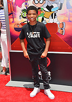 "Lonnie Chavis at the premiere for ""Teen Titans Go! to the Movies"" at the TCL Chinese Theatre, Los Angeles, USA 22 July 2018<br /> Picture: Paul Smith/Featureflash/SilverHub 0208 004 5359 sales@silverhubmedia.com"
