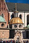 Kaplica Zygmuntowska zw. także Królewską, Rorantystów i Jagiellońską, Kaplica Wniebowzięcia NP Marii oraz św. Barbary – jedna z 19 kaplic w Katedrze Wawelskiej, Kraków, Polska<br /> Sigismund's Chapel on the Wawel Cathedral, Kraków, Poland