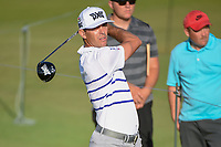 Billy Horschel (USA) watches his tee shot on 11 during round 1 of the AT&T Byron Nelson, Trinity Forest Golf Club, at Dallas, Texas, USA. 5/17/2018.<br /> Picture: Golffile | Ken Murray<br /> <br /> <br /> All photo usage must carry mandatory copyright credit (© Golffile | Ken Murray)
