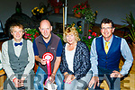 Mike Lawlor, seated 2nd Lt, won the best garden overall at the  Kilmoyley Tidy Towns and garden awards night in the community hall, kilmoyley last Friday, L-R Padraig Ryan, Mike Lawlor, Linda Baker and Billy O'Connor.