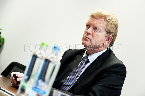 Michel Vermaerke, president of Febelfin, the Belgian Federation of the Financial sector (Belgium, 14/09/2011)