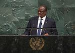 72 General Debate &ndash; 23rd of September  2017<br /> <br /> H.E. TABAN Deng Gai<br /> First Vice President of<br /> SOUTH SUDAN