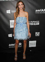 HOLLYWOOD, LOS ANGELES, CA, USA - OCTOBER 29: Chiara Ferragni arrives at the 2014 amfAR LA Inspiration Gala at Milk Studios on October 29, 2014 in Hollywood, Los Angeles, California, United States. (Photo by Celebrity Monitor)