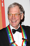 David Letterman attending the 35th Kennedy Center Honors at Kennedy Center in Washington, D.C. on December 2, 2012