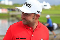Andy Sullivan (ENG) finishes on the 18th during Round 2 of the 100th Open de France, played at Le Golf National, Guyancourt, Paris, France. 01/07/2016. <br /> Picture: Thos Caffrey | Golffile<br /> <br /> All photos usage must carry mandatory copyright credit   (&copy; Golffile | Thos Caffrey)