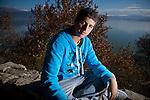 Greek student Andreas Nasios,18, in Ioannina.
