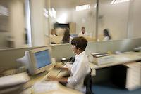 Belo Horizonte_MG, Brasil...Trabalho em uma empresa...The work in a company...Foto: LEO DRUMOND / NITRO
