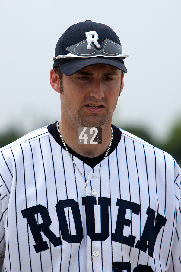 21 May 2009: Ian Young of Rouen is seen during the 2009 challenge de France, a tournament with the best French baseball teams - all eight elite league clubs - to determine a spot in the European Cup next year, at Montpellier, France.