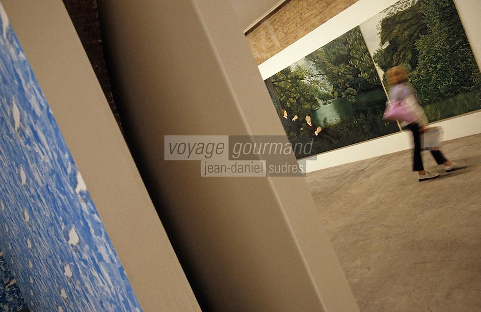 Europe/France/Aquitaine/33/Gironde/Bordeaux: Entrepot Laine - Musée d'art contemporain