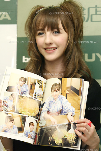 Apr 29, 2010 - Tokyo, Japan - Manx pop singer Beckii Cruel - real name Rebecca Flint - attends a handshake party where 350 fans showed up for the first release of her photo book 'Marugoto Beckii' in Tokyo, Japan, on April 29, 2010. 14-year-old Beckii, from the Isle of Man, gained popularity from the videos that she posted on YouTube of her dancing to JPop and anime tunes. Her YouTube account alone has reached more than 11 million viewers.