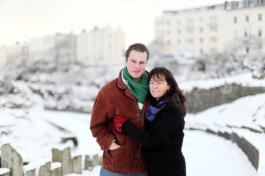 Breffney Morgan and his mother Geraldine are pictured in Dun Laoghaire. Picture James Horan/Collins Photos