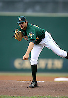Daniel Moskos / Lynchburg Hillcats..Photo by:  Bill Mitchell/Four Seam Images