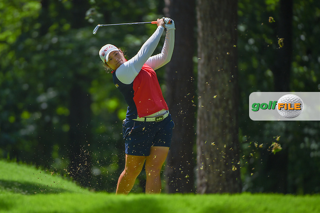 Ariya Jutanugarn (THA) watches her tee shot on 2 during round 3 of the U.S. Women's Open Championship, Shoal Creek Country Club, at Birmingham, Alabama, USA. 6/2/2018.<br /> Picture: Golffile | Ken Murray<br /> <br /> All photo usage must carry mandatory copyright credit (© Golffile | Ken Murray)