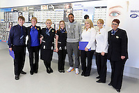 Pictured: Ahley WIlliams with Boots employees Sunday 28 June 2015<br />