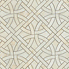 Gran Via, a waterjet stone mosaic, shown in polished Cloud Nine, is part of the Miraflores Collection by Paul Schatz for New Ravenna.<br /> <br /> For pricing samples and design help, click here: http://www.newravenna.com/showrooms/<br /> <br /> <br /> As seen in Elle Decor.