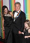 Lisa Gottsegen & Dustin Hoffman & Family attending the 35th Kennedy Center Honors at Kennedy Center in Washington, D.C. on December 2, 2012