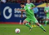 FUSSBALL   1. BUNDESLIGA  SAISON 2012/2013   3. Spieltag FC Augsburg - VfL Wolfsburg           14.09.2012 Diego (VfL Wolfsburg)
