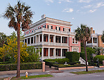 Charleston SC Battery Row Mansions