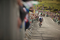 finishing up Haytor<br /> <br /> 2013 Tour of Britain<br /> stage 6: Sidmouth to Haytor (Dartmorr): 137km