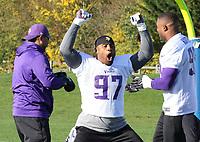 OCT 27 NFL Minnesota Vikings Practice