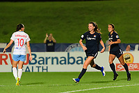 Piscataway, NJ - Wednesday August 14, 2019: A National Women's Soccer League match between Sky Blue FC and the Chicago Red Stars at Yurcak Field.