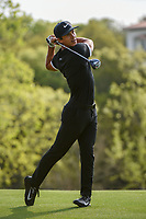 Thorbjorn Olesen (DEN) watches his tee shot on 3 during day 2 of the WGC Dell Match Play, at the Austin Country Club, Austin, Texas, USA. 3/28/2019.<br /> Picture: Golffile | Ken Murray<br /> <br /> <br /> All photo usage must carry mandatory copyright credit (© Golffile | Ken Murray)