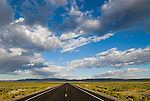 Morning clouds, Reese River Valley, US 50 west, The Loneliest Highway in America, Nevada