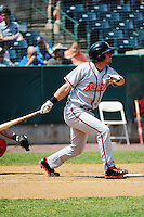 Richmond Flying Squirrels infielder  Joe Panik (13) during game against the New Britain Rock Cats at New Britain Stadium on May 30, 2013 in New Britain, CT.  New Britain defeated Richmond 2-1.  (Tomasso DeRosa/Four Seam Images)