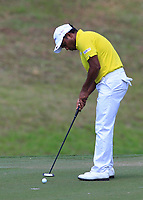 S.S.P Chawrasia (IND) in action on the 6th during Round 3 of the Maybank Championship at the Saujana Golf and Country Club in Kuala Lumpur on Saturday 3rd February 2018.<br /> Picture:  Thos Caffrey / www.golffile.ie<br /> <br /> All photo usage must carry mandatory copyright credit (© Golffile | Thos Caffrey)