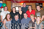 30TH: Joe Hayes, Killorglin (front centre) celebrates his 30th birthday with friends and family in Bunkers Bar, Killorglin, last Friday night..