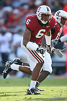 14 October 2006: David Lofton during Stanford's 20-7 loss to Arizona during Homecoming at Stanford Stadium in Stanford, CA.