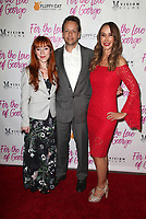 HOLLYWOOD, CA - February 12: Ruth Connell, Henry Hereford, Nadia Jordan, at Premiere Of Vision Films' 'For The Love Of George' at TCL Chinese 6 Theatres in Hollywood, California on February 12, 2018. Credit: Faye Sadou/MediaPunch