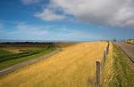 Dike at the Dutch island of Texel