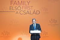 Tony Abbott Former Prime Minister of Australia delivers his speech at the Budapest Demographic Summit in Budapest, Hungary on Sept. 5, 2019. ATTILA VOLGYI