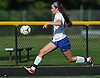 Maureen McNierney #9 of Kellenberg gives chase during a non-league varsity girls soccer game against host Wantagh High School on Saturday, Sept. 29, 2018. She extended a 1-0 Kellenberg lead with two goals late in the second half en route to the team's 3-0 win.