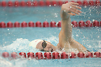 STANFORD, CA - JANUARY 22:  Whitney Spence of the Stanford Cardinal during Stanford's 173-125 win over Arizona on January 22, 2010 at the Avery Aquatic Center in Stanford, California.