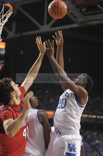 Kentucky Wildcats guard Doron Lamb (20) goes up strong with the ball  during the first half of the University of Kentucky Men's basketball game against Radford at Rupp Arena in Lexington, Ky., on 11/23/11. Uk led the game at half 45-14. Photo by Mike Weaver | Staff