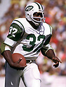 New York Jets Emerson Boozer (32) during a game from his  1973 season with the New York JetsEmerson Boozer played for 10 season all with the Jets and was a 2-time Pro Bowler.(SportPics)