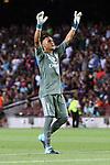 Supercopa de Espa&ntilde;a - Ida.<br /> FC Barcelona vs R. Madrid: 1-3.<br /> Keylor Navas.
